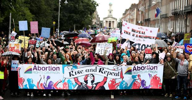Irony in Ireland: CNN Article on Repeal of 8th Amendment Annotated